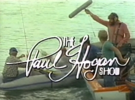 Benny Hill spoof on the Paul Hogan Show (1978)