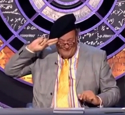 Benny Hill reference on QI, 2009