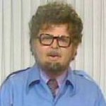 Benny as Rolf Harris in 'The Art of Rolf Harris'