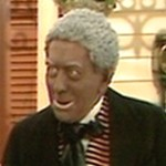 Bob Todd as Rufus the black servant in the Nov. 24, 1971 'Home Is The Hero' sketch