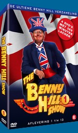 Click to see a larger version of the Dutch Filmworks DVD, The Best of Benny Hill Volume 1