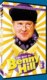 Click to see a larger version of the Dutch Filmworks DVD, The Best of Benny Hill Volume 3