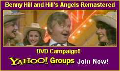 Benny Hill on DVD Campaign!