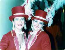 Julia Gale and me from TV show called The Main Attraction choreographed by Brian Rogers.