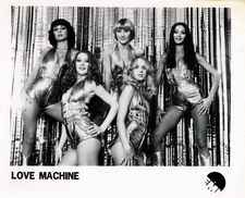 A Love Machine promo photo L to R Theresa, Lorraine, Libby, me and Claire.
